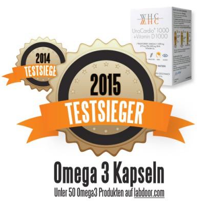 Omega-3 Kapseln Testsieger 2014 & 2015